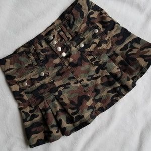 RUE21 Camo Mini Skirt